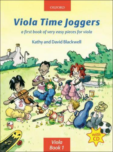 PWM Blackwell Kathy, David - Viola time joggers. A first book of very easy pieces for viola
