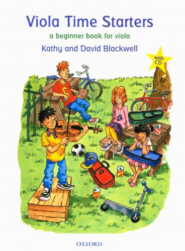 PWM Blackwell Kathy, David - Viola time starters. A beginner book for viola