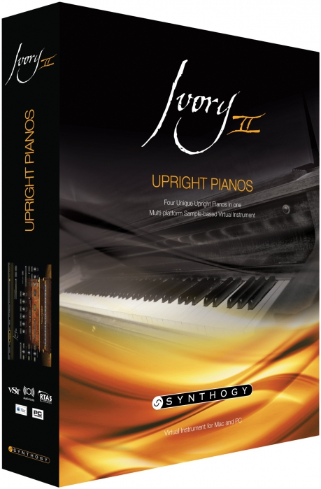 Synthogy Ivory II Grand Pianos Computerprogramm