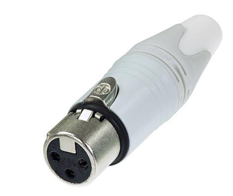 Neutrik NC3FXX-WT Adapter