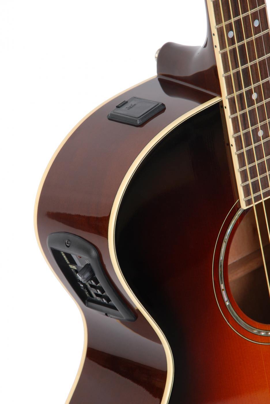 yamaha cpx 500 old violin sunburst elektro akustik gitarre. Black Bedroom Furniture Sets. Home Design Ideas