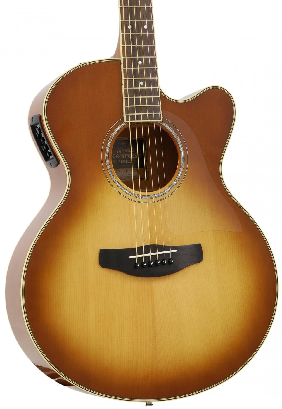 yamaha cpx 700 ii sb elektro akustik gitarre. Black Bedroom Furniture Sets. Home Design Ideas