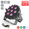 Flash LED PAR 64 SLIM 7x10W RGBW 4w1 PRO MKII LED light effect