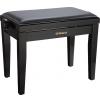 Roland RPB-200PE-EU piano bench, black gloss, vinyl seat