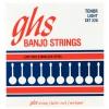 GHS Tenor - Banjo String Set, 4-String, Loop End, Tenor, Stainless Steel, Light, .009-.028
