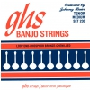 GHS Johnny Baier Signature - Banjo String Set, 4-String, Loop End, Medium, .011-.030
