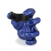 GuitarGrip Male Hand Blue Metallic L