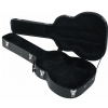 RockCase Standard Hardshell Case - Maccaferri Guitar Case, curved shape, black Tolex