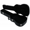 RockCase Standard Hardshell Case - Mini Acoustic Guitar curved shape, black Tolex