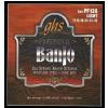 GHS Professional - Banjo String Set, 6-String, Loop End, Stainless Steel, Light, .011-.042