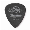 Dunlop 488P Tortex Pitch Black Plektrum