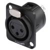 Hicon HI-X3DFM - wtyk XLR do montażu