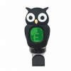 Jeremi B7 clip-on guitar tuner, black owl