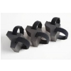 TnR Products Booty Shakers ″little″ Snare, podkładki izolujące (3 szt.)