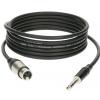 Klotz kabel mikrofonowy XLRf / TRS 3m