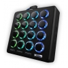 DJ TECHTOOLS - MIDI FIGHTER 3D BLACK premium midi-controller