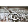 Code WH4 Port Hole White, Schlagzeugfell-Schallloch-Abdeckung, weiß