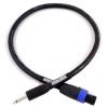 Mogami Reference Cab speaker cable speakon/jack, 1m