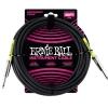 Ernie Ball 6046 Instrumentenkabel 6,9 m, Schwarz