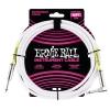 Ernie Ball 6049 Instrumentenkabel 3,05 m, Weiß