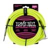 Ernie Ball 6057 Instrumentenkabel 7,62 m, Neongelb