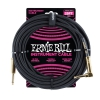 Ernie Ball 6058 Instrumentenkabel 7,62 m, Schwarz