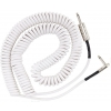 Fender Jimi Hendrix Voodoo Child Cable White guitar cable, 9.1m