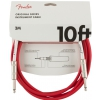 Fender Orginal 10′ guitar cable, FRD