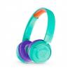 JBL JR300BT, bluetooth turkusowe słuchawki nauszne dla dzieci