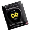 DR BKE-11 Black Beauties Extra Life Saiten für E-Gitarre