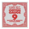 ErnieBall plain steel single guitar string ′9′
