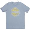 Fender Cali Coastal Yellow Waves Men′s Tee, Blue, XL koszulka
