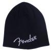 Fender Logo Beanie, Black, One Size