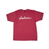 Jackson Logo T-Shirt, Heather Red, L koszulka