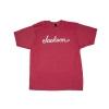 Jackson Logo T-Shirt, Heather Red, M koszulka