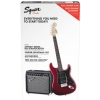 Fender Affinity Series Stratocaster HSS Pack, Laurel Fingerboard, Candy Apple Red, 230V EUR gitara elektryczna zestaw