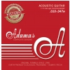Adamas (664580) Phosphor Bronze Historic Reissue acoustic guitar strings, medium, .013-.056
