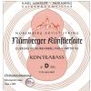 Nurnberger (643101) struny do kontrabasu Kunstler Strojenie orkiestrowe - G 3/4