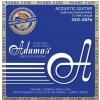 Adamas (664681) Phosphor Bronze Nuova powlekane struny do gitary akustycznej - Extra Light .010-.047