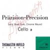 Thomastik (641664) Prazision struny do wiolonczeli - Set 1/2 - 784