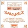 Savarez (645301) struna do chordofonu smyczkowego - D1 Jelito - BRH55