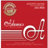 Adamas (664570) Phosphor Bronze Historic Reissue, struny do gitary akustycznej - Light .012-.053
