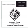 Fire&Stone (666820) struna pojedyncza 80/20 Bronze - .020in./0,51mm