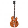 Gretsch G5440LSB Electromatic Hollow Body 34″ Long Scale Bass, Rosewood Fingerboard, Orange bass guitar