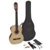 Martinez MTC 234 Pack Natural klassische Gitarre