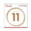 Fender 860CL Phosphor Bronze Dura Tone Coated 11-52 acoustic guitar strings