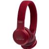 JBL Live 400BT RED słuchawki bezprzewodowe nauszne, kolor czerwony