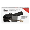 Fender Affinity Series Precision Bass PJ Pack Laurel Fingerboard Black Gig Bag Rumble 15