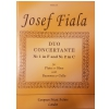 PWM Fiala, J. Duo Concertante No.1 in F And  No 2.2 in C