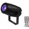 Eurolite LED Pinspot PST-5 QCL Spot bk - czarny - oświetlacz kuli RGBW